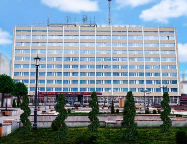 """Гостиница """"Державинская"""" (облицовка фасада здания керамогранитом)"""