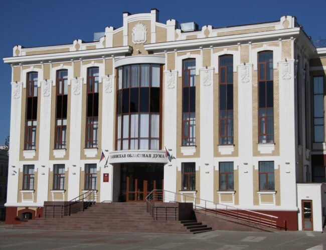 Здание Тамбовской Областной Думы